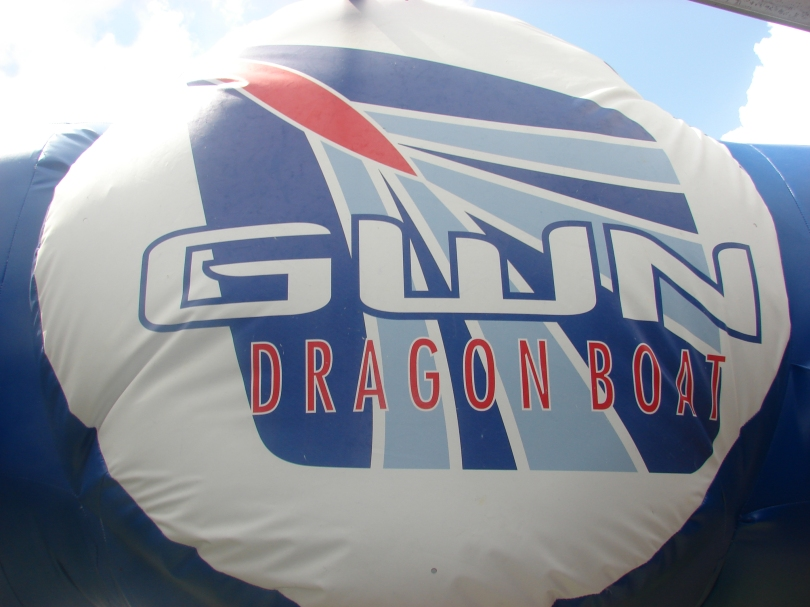 Logotipo inflable